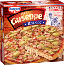 Guseppe American style Hot dog