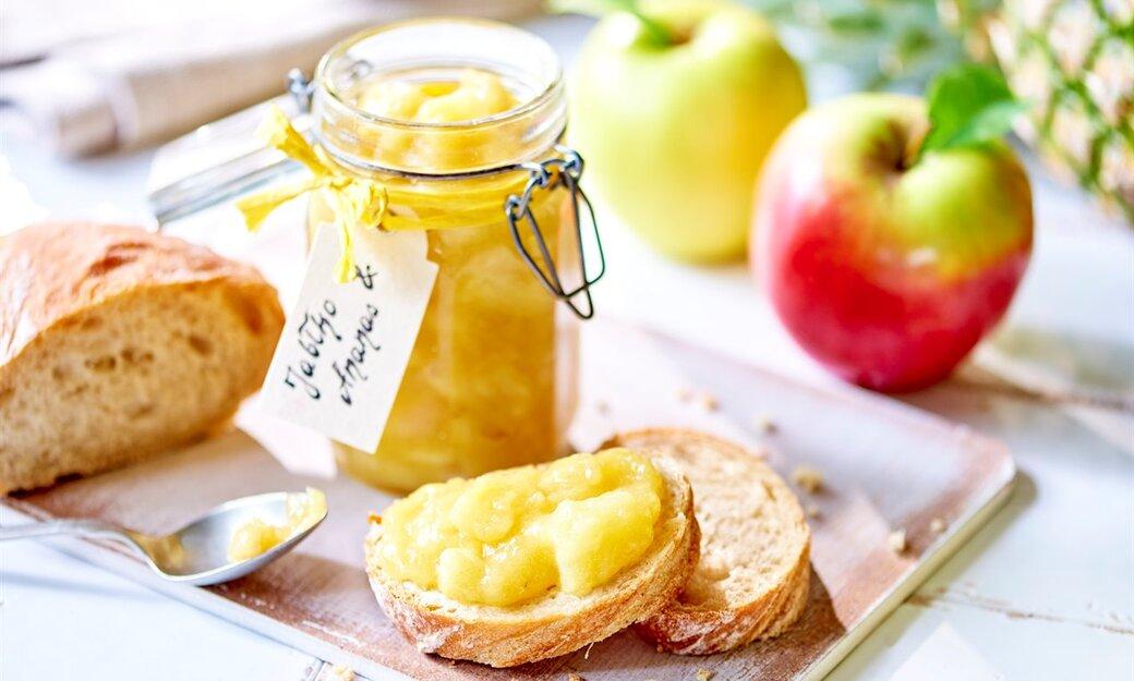 Dżem z jabłek i ananasa