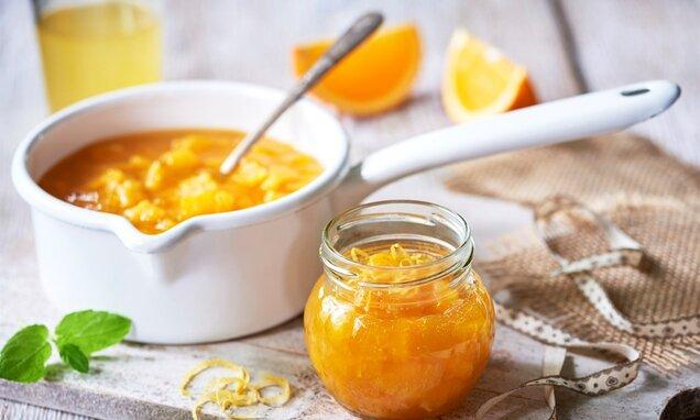Wytworny dżem z pomarańczy