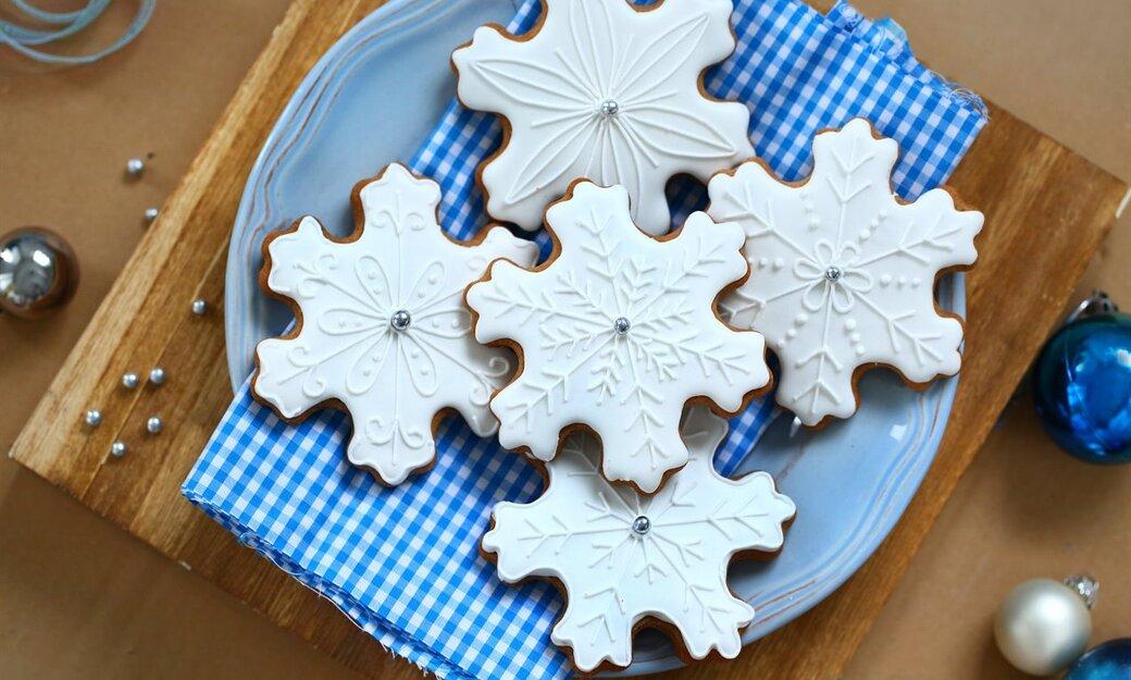 Ciasteczka - Magiczne śnieżynki